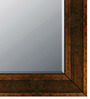 Pancho Minimalist Mirrors in Brown by CasaCraft