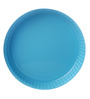 Pasabahce Ovenware Blue Stainless Steel Round Tray