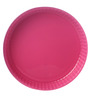 Pasabahce Ovenware Pink Stainless Steel Round Tray