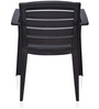 Passion Visitor Chair in Weather Brown Colour by Nilkamal