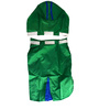 Pawzone Rain Coat for Dog in Green (Size -20)