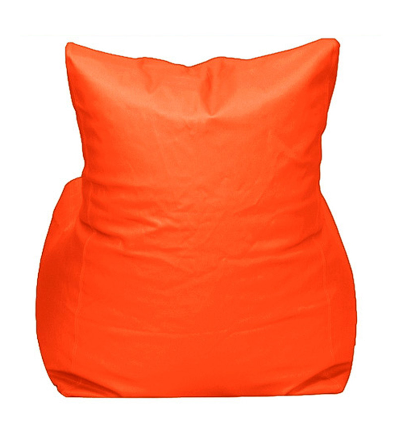pebbleyard orange xxl chair bean bag cover without beans by pebbleyard online bean bags. Black Bedroom Furniture Sets. Home Design Ideas