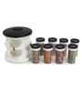 Jvs Majestic Black 100 ML (Each) Spice Rack - Set of 8
