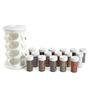 Jvs Majestic White 100 ML (Each) Spice Rack - Set of 16