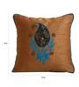 Per Inch Brown Bhagalpur Poly Silk 12 X 12 Inch Reminiscence Insha Cushion Cover