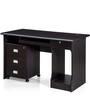 Petal Office Table-Black by Royal Oak
