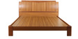 Phoebe King Bed in Brown Colour by Lalco Interiors