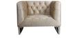 Phoenix Sofa Set (3+1+1) in Velvet Beige Color by ARRA