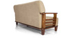 Phoenix Sofa Set (3 + 1 + 1) Seater in Beige Colour by Vive