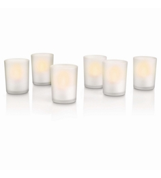 Philips Accents LED Tealight - Set Of Six