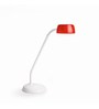 Philips Red Polycarbonate 72008 Desk Lamp