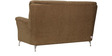 Piper Two Seater Fabric Sofa in Brown Colour by Home City