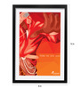Pickypomp Paper 8 x 12 Inch Come As You Are Framed Wall Poster