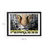 Pickypomp Premium Digital Paper 18 x 1 x 12 Inch Fearless Tiger Laminated Framed  Digital Art Print