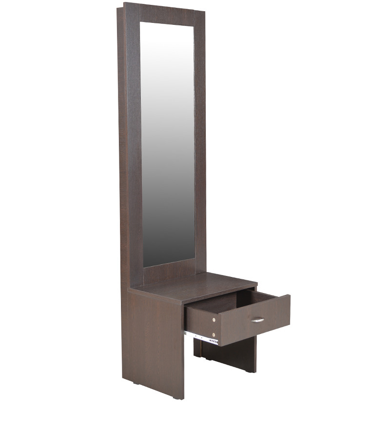 Platina dressing table in wenge colour by crystal furnitech by crystal furnitech online - Dressing wenge ...