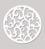 Planet Decor White Acrylic Branch Room Divider