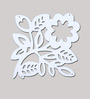 Planet Decor White Acrylic Fortune Leaf Room Divider