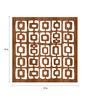 Mauboy Room Divider in Brown by Bohemiana