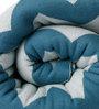 Pluchi Chevron Knitted Single-Size Throw Blanket