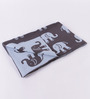 Pluchi Indian Elephants Knitted Cotton Kid's Blanket