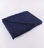 Pluchi Blue Cotton Throw