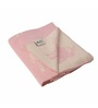 Pluchi Nursery Sheep Pink Cotton 39 x 31 Inch Single Blanket