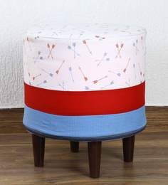 Pouffe In Multi-Colour By My Gift Booth - 1586652