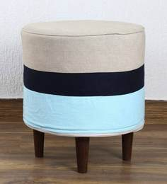 Pouffe In Multi-Colour By My Gift Booth - 1586651