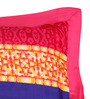 Portico New York Multicolour Cotton 27 X 18 Pillow Covers - Set of 2