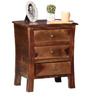 Toston Bed Side Table in Provincial Teak Finish by Woodsworth