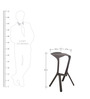 Post Bar Stool 'Set of 2' by FabChair