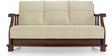 Prestige Sofa Set (3 + 1 + 1) in Beige Colour by Vive