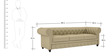 Princeton Three Seater Sofa in Beige Colour by ARRA