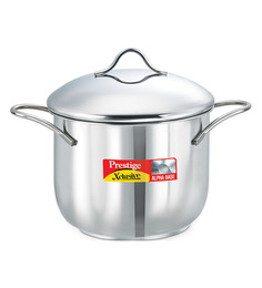 Prestige Xclusive Stainless Steel  Stainless Steel 3000 ML Deep Pot
