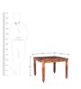 Pranidha Coffee Table with Brass inlay Work by Mudramark