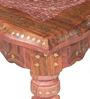 Pranidha End Tables with Brass Inlay Work by Mudramark