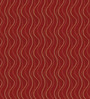 Presto Red Polyester Abstract Eyelet Curtain - Set of 2