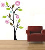 Print Mantras PVC Wall Stickers Beautiful Sun Flowers Tree