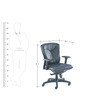 Proactive II Series A High Back Chair in Black colour by BlueBell Ergonomics