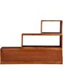 Tampa Multipurpose Display Unit Honey Oak Finish by Woodsworth