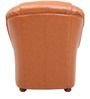 Queen One Seater Sofa in Tan Brown Colour by Star India