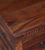 Queensberry Trunk in Provincial Teak Finish by Amberville