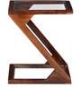 Mosby Sheesham Wood End Table in Provincial Teak Finish by Woodsworth