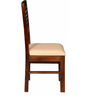 Winona Ivy Dining Chair in Provincial Teak Finish by Woodsworth