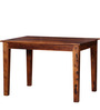 Dallas Four Seater Dining Set in Honey Oak Finish by Woodsworth