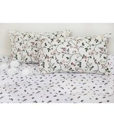 R Home Multicolour Cotton 18 X 27 Pillow Cover - Set Of 2