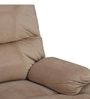 Radcliffe One Seater Recliner Sofa in Beige Colour by HomeTown