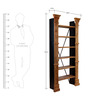 Troyes Display Unit in Distress Finish by Bohemiana