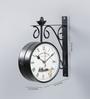 Random Black Metal 10 x 3.5 x 12 Inch Station Clock