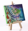 Rang Rage Canvas 8 x 1 x 6 Inch Funky Fluid Grace Stretched Framed Painting with Easel Stand